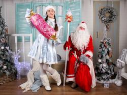 Дед Мороз и Снегурочка-1
