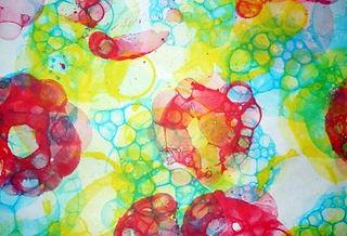 Картина из пузыря