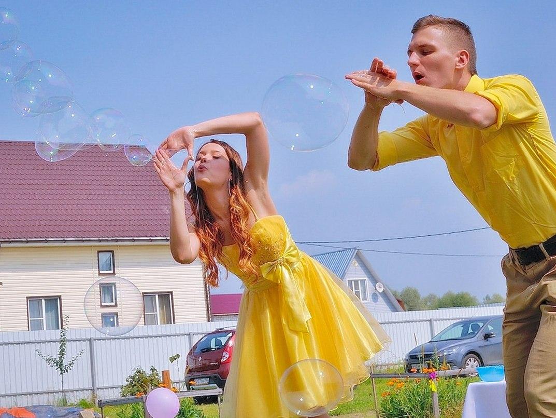 Шоу мыльных пузырей-3