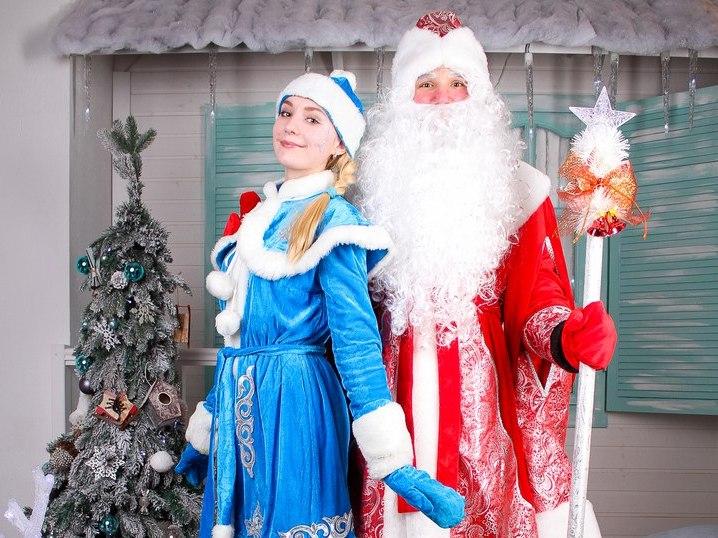 Дед Мороз и Снегурочка-7
