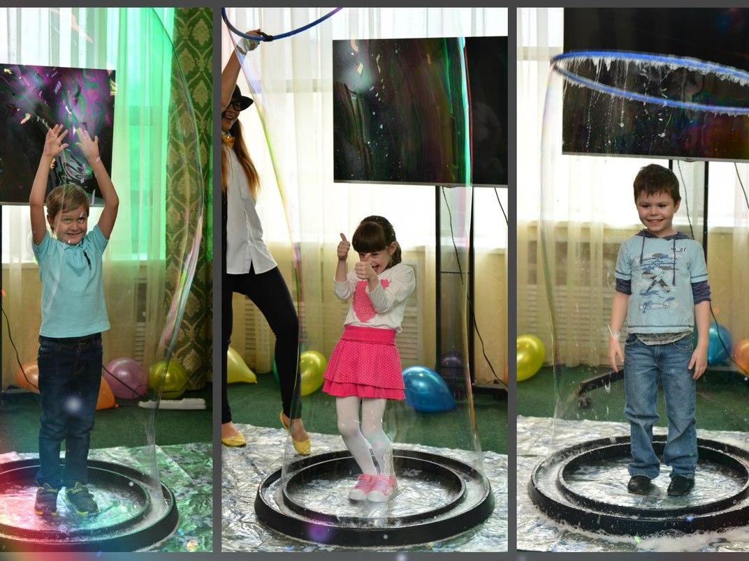 Шоу мыльных пузырей-12