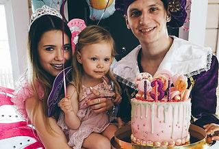 Вечеринка принцев и принцесс