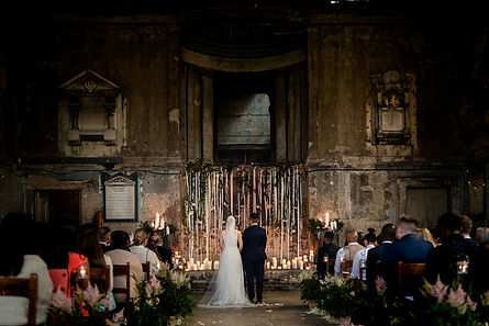 The Asylum Peckham, a unique and impactful wedding venue in Peckham
