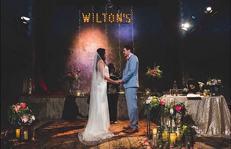 A TRULY STUNNING WEDDING VENUE; WILTON'S MUSIC HALL