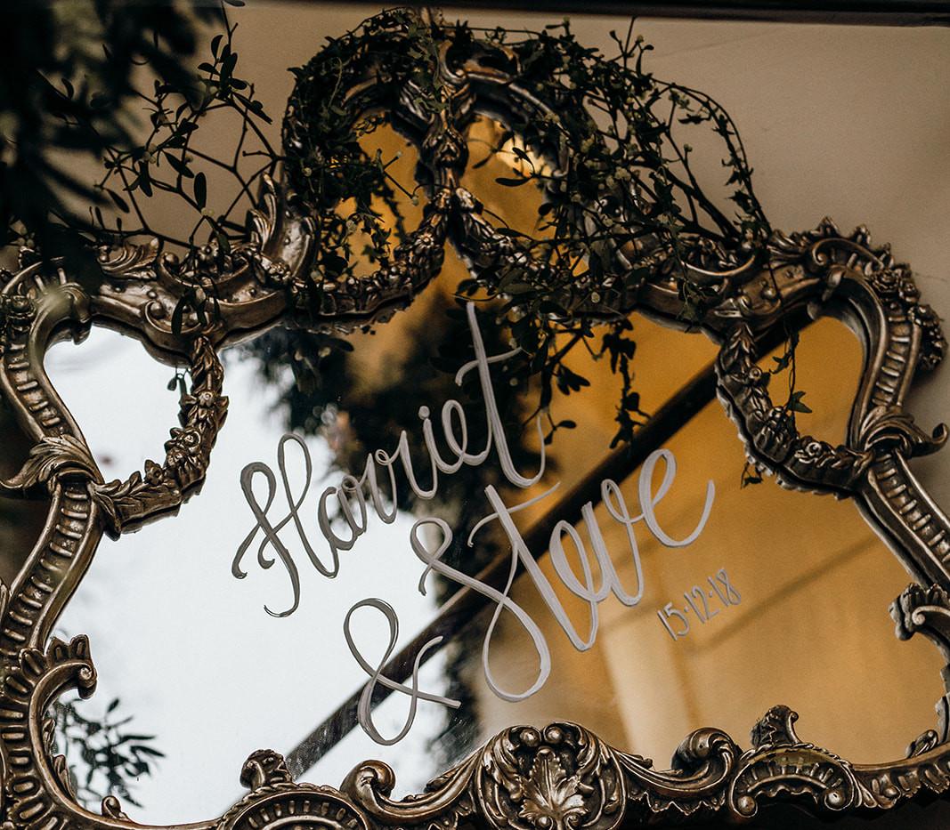 vintage mirror and lanterns.jpg