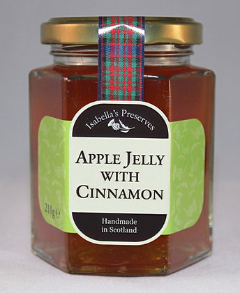 Apple Jelly with Cinnamon