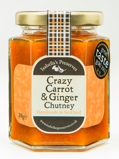Crazy Carrot & Ginger Chutney