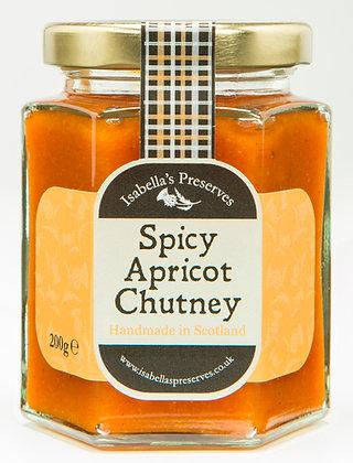 Spicey Apricot Chutney