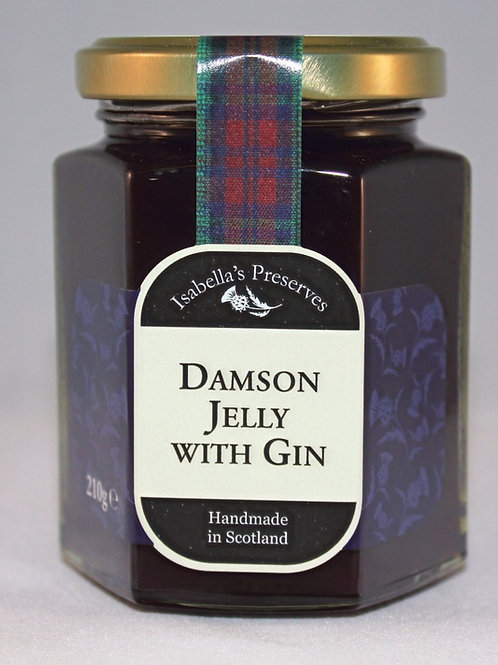Damson Jelly with Gin