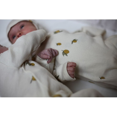 "Konges sløjd ""Lemon"" New Born Romper"