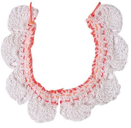Meri Meri -Crochet Collar Necklace-