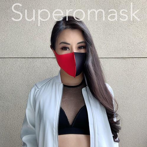 Bespoke Bicolor Antibac Mask   1 piece