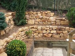 muret pierre sèche