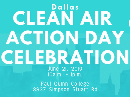Be a Clean Air Champion!
