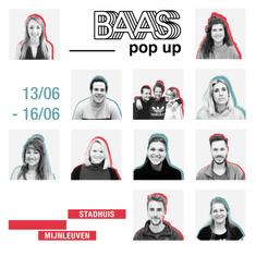 BAAS POP UP, MIJNLEUVEN, Leuven, 2019.