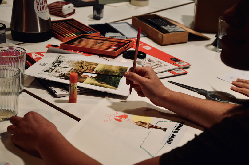 Atelier Illustré, MIJNLEUVEN, 2019.