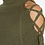 Thumbnail: LACE UP SLEEVE SWEATER