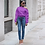 Thumbnail: COLD SHOULDER BUTTON-SLEEVED SWEATSHIRT