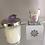 Thumbnail: Amethyst Stone Candle - Lavender - 8.5 oz.