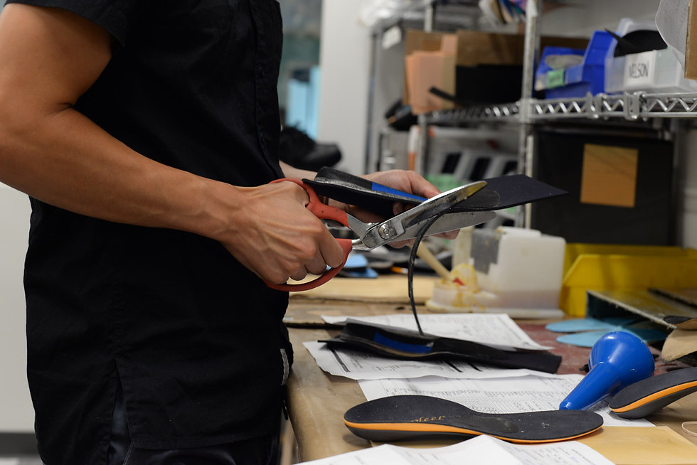 Manufacturing Orthotic Device