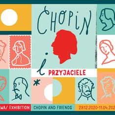 Ilustracja do wystawy CHOPIN I PRZYJACIELE