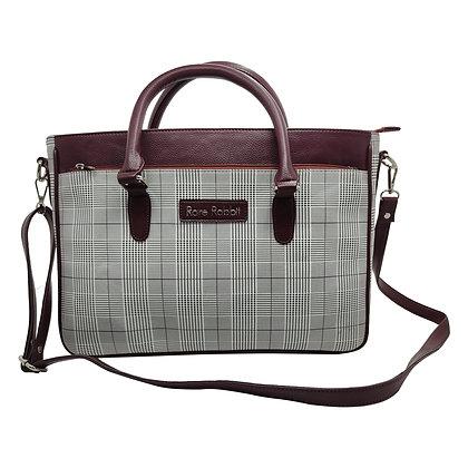 Women Laptop Bag/Office Bag/Check Print Style
