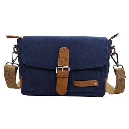 Unisex Canvas Messenger Bag