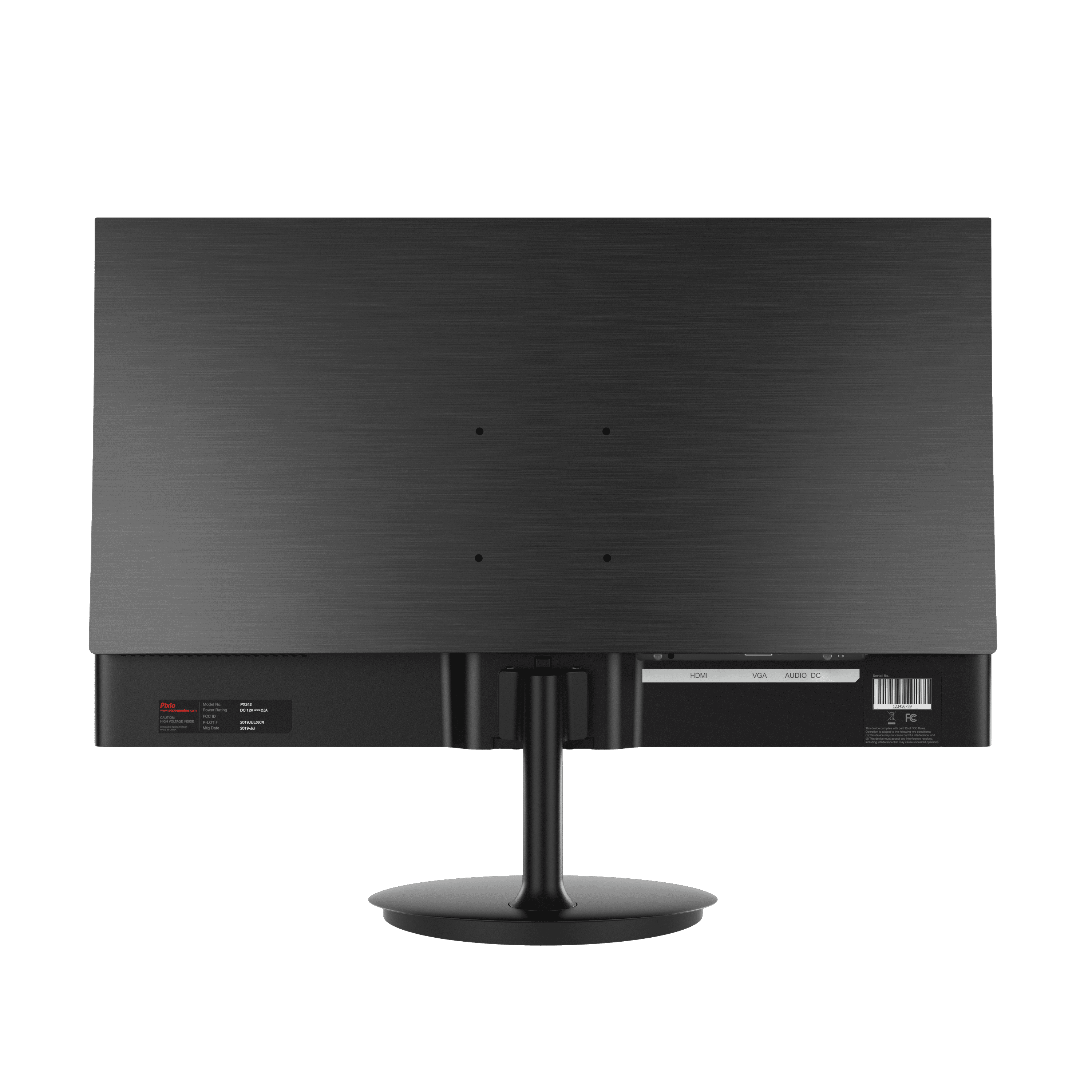 Pixio-24inch-monitor-PX242-Rear