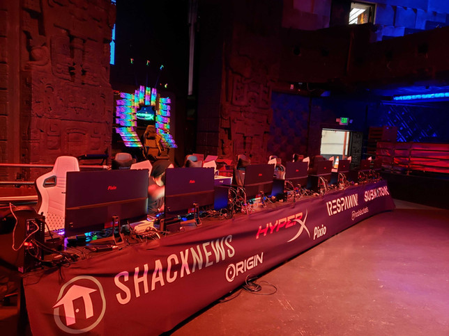 Pixio Monitors at Tournament