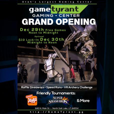GameTyrant Gaming Center Grand Opening
