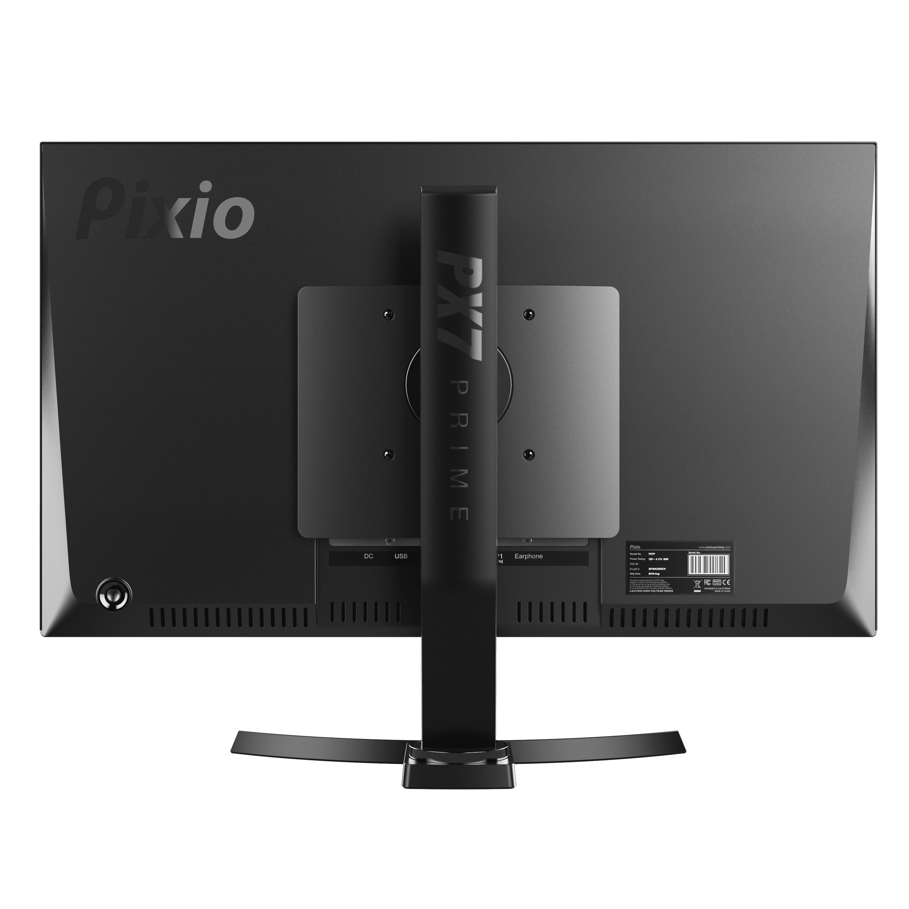 Pixio gaming monitor 165Hz IPS Multistan