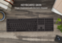 Patchworks-keyboard skin macbook magic k