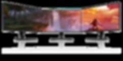 Pixio-gaming-monitor-PX7 Prime-Bezel-les