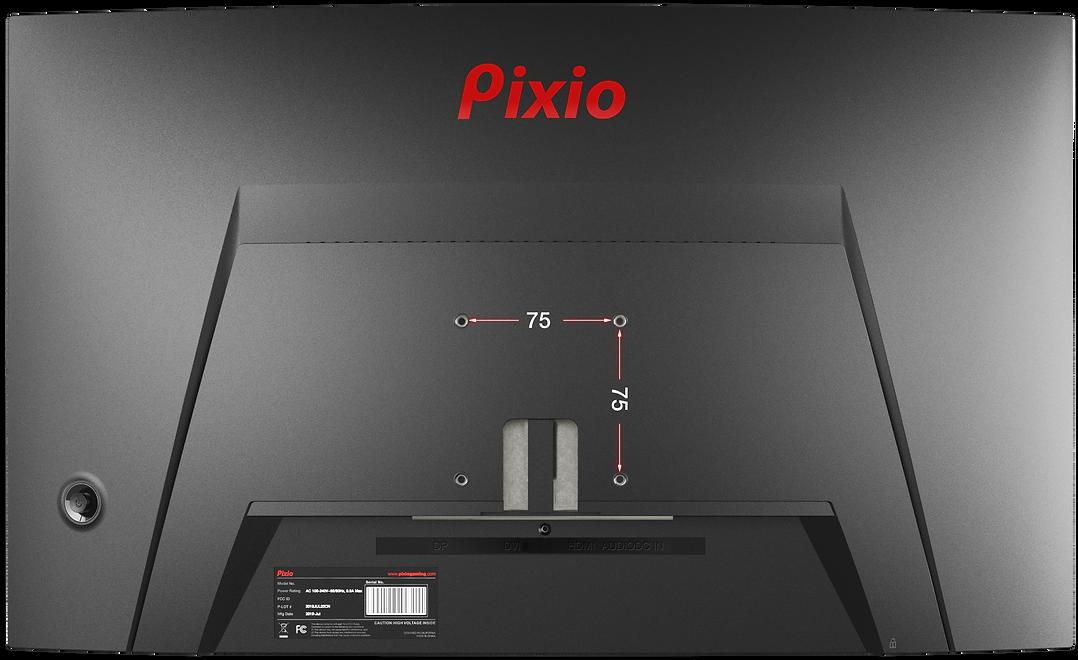 Pixio PXC273 27in Gaming Monitor_Vesa 75