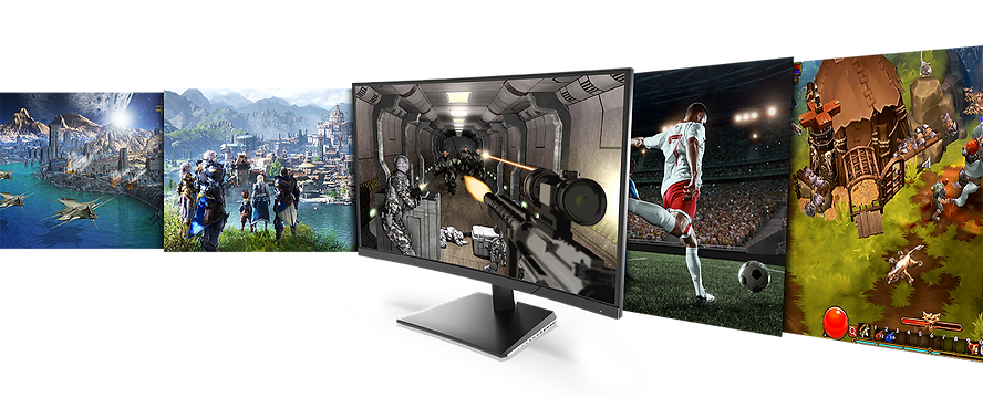 Pixio PXC273 144hz budget curved gaming monitor