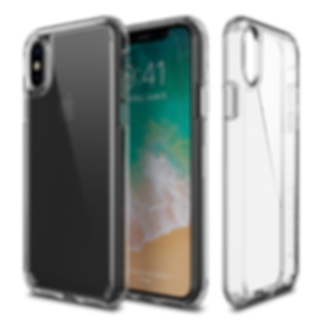 Patchworks lumina clear rugged case iphone X