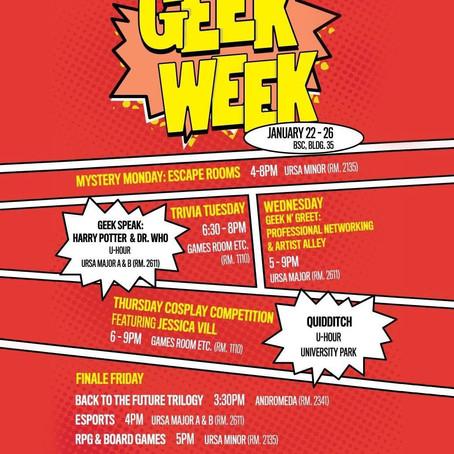 Cal Poly Pomona Bronco Esports Presents ASI Geek Week!