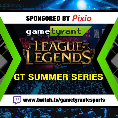 Pixio is sponsoring Gametyrant's League of Legends #GTSummerSeries!