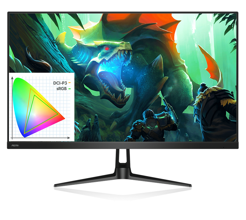Pixio PX275h_WQHD_Gaming Monitor_HDR_IPS