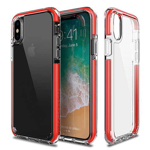 Patchworks iPhone X clear case