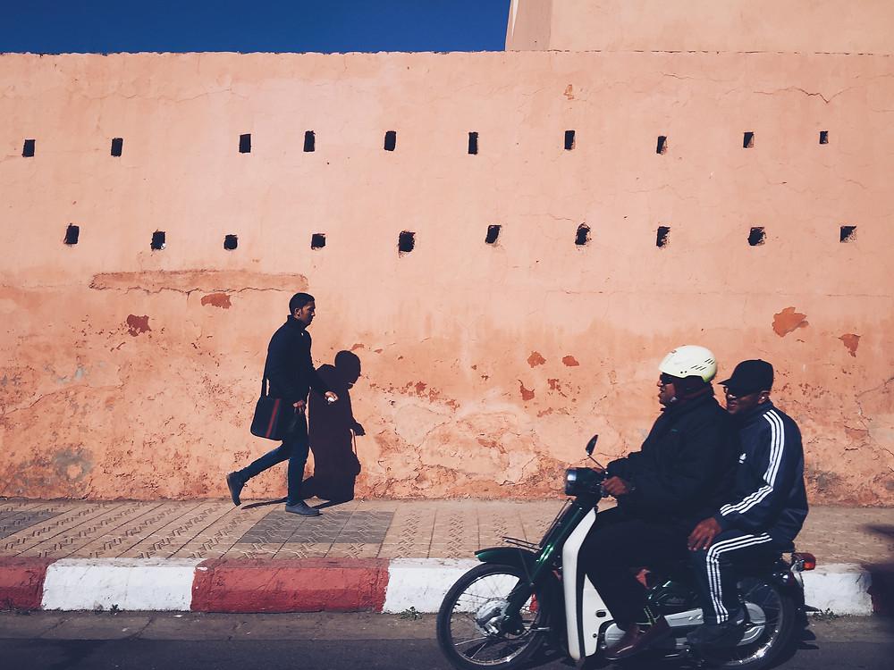 Pink Walls, Marrakesh