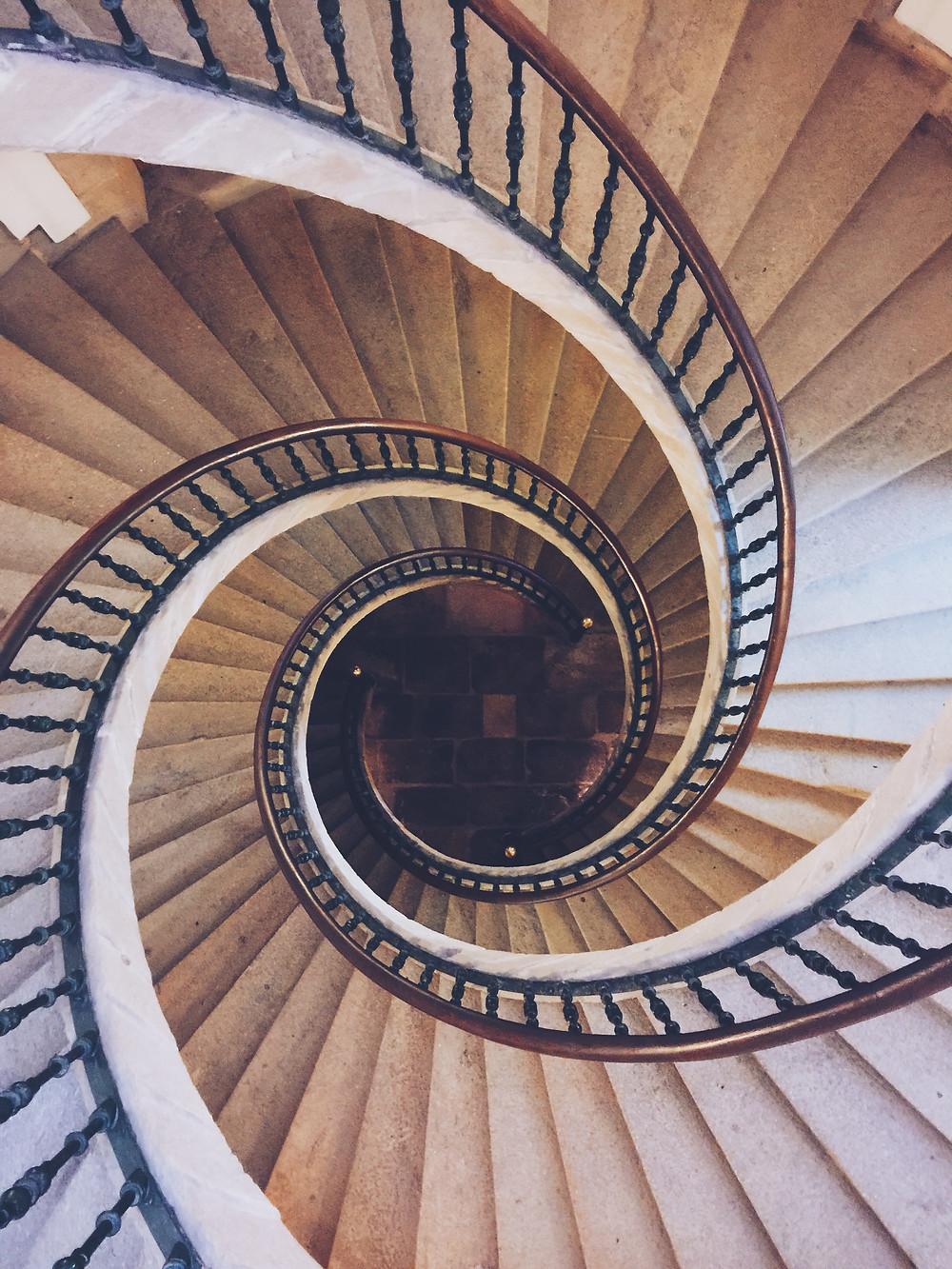 Spiral Staircase, Galicia