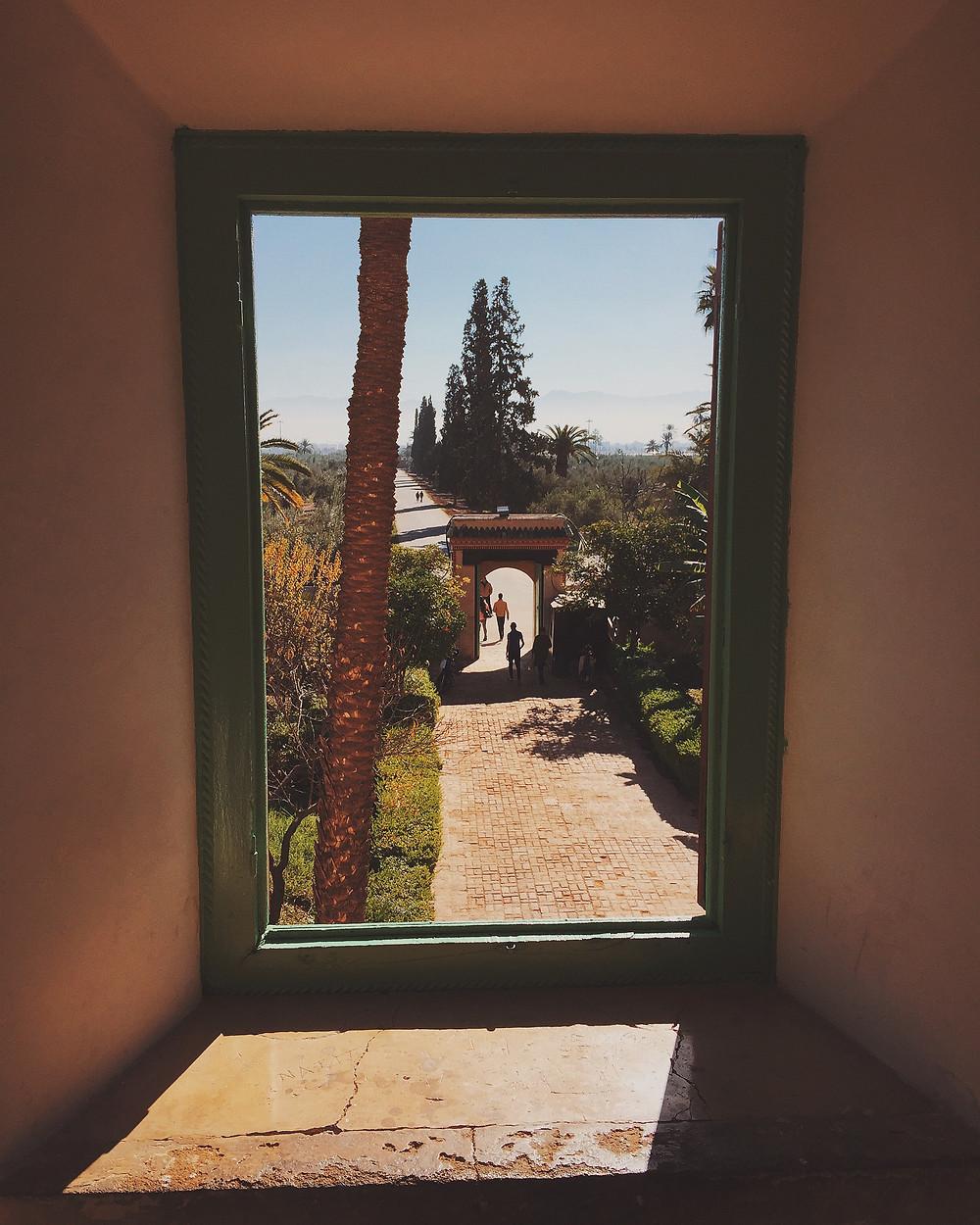 Through the Window, Marrakesh