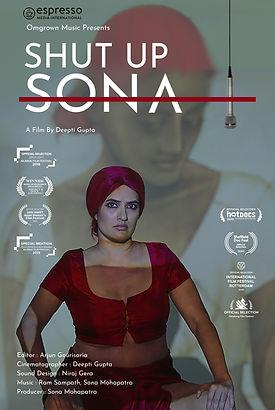 Shut Up Sona Poster (Film Festivals)_Eas