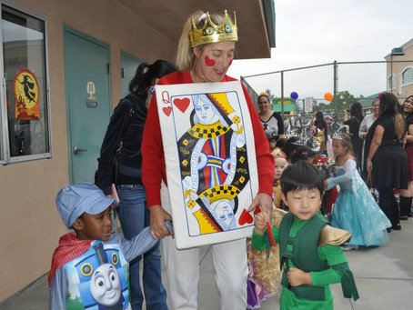 How to combine fun and learning on Halloween