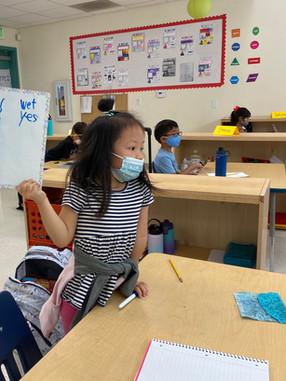 "Elementary School in-person learning - ""Short e"""