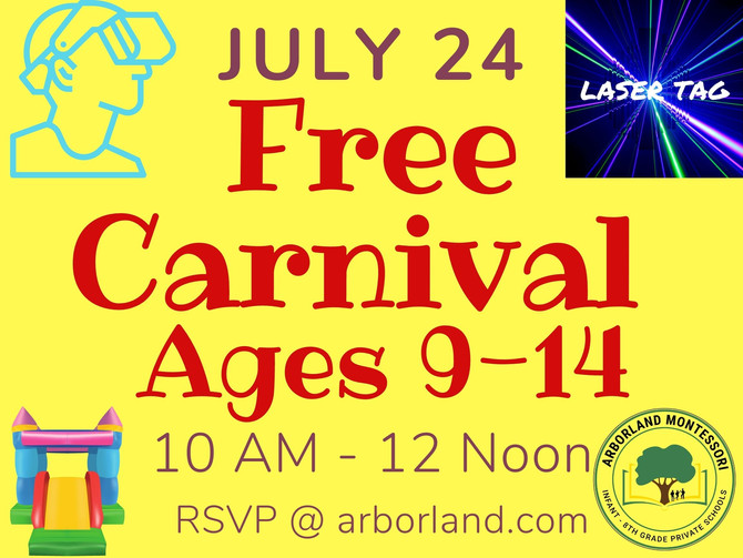Jr High Celebration Carnival