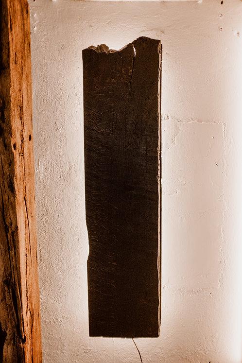 Wandbild Altholz
