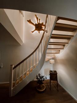 Wandbilder-Treppe