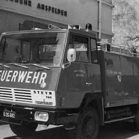 Tanklöschfahrzeug 4000l Steyr 790  1969